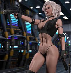 Cora - Gunner Girl II by STR4HL