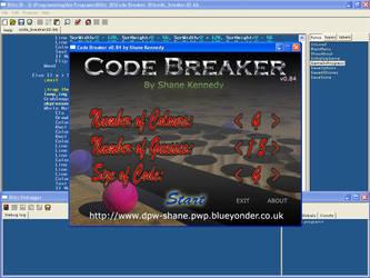 Screenshot 01 - CodeBreaker by dpw-shane