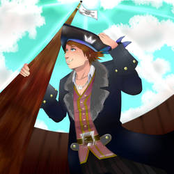 Sora the Pirate by Keykoo-chan