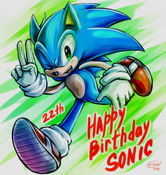22th [SONIC] by LeonS-7
