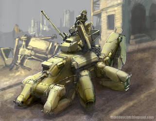 Crawler Tank by MikeDoscher