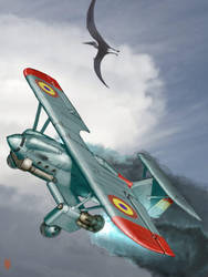 Nieuport Rocket Fighter by MikeDoscher