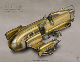 Sky Cab by MikeDoscher