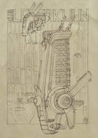 Club Leverkuhn Sketch by MikeDoscher