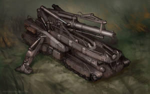 'Goliath' Heavy Artillery by MikeDoscher