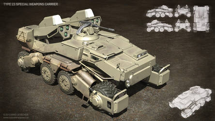 Type 23 Special Weapons Carrier by MikeDoscher