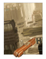 Titan City Terminal by MikeDoscher