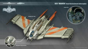 ICV 'Manta' Interceptor by MikeDoscher