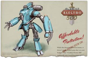 Gladius Electro 500 by MikeDoscher