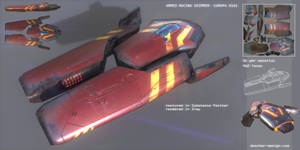 Armed Racing Skimmer by MikeDoscher
