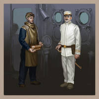 USN Space Uniforms, 1911 by MikeDoscher