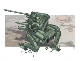 Armored Walker by MikeDoscher