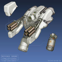 Defense Drone (Palletized) by MikeDoscher
