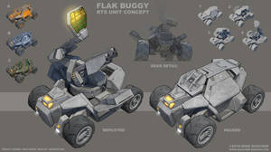 Flak Buggy Concept by MikeDoscher