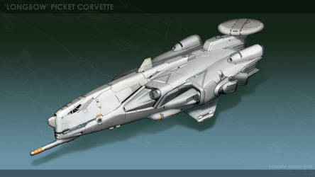 'Longbow' Picket Corvette by MikeDoscher