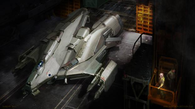 Hangar Bay by MikeDoscher