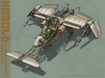 'Kobold' Aircraft Concept by MikeDoscher