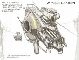 Wirebus concept by MikeDoscher