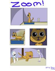 Zepher Comic Strip 1: ZOOM! by fuzzylilly2