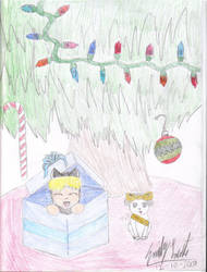 Joey and Link's Christmas by chibiryuk