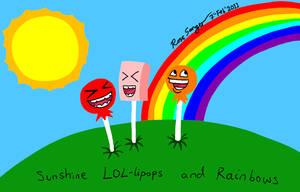 Sunshine LOL-lipops n Rainbows by Ross-Sanger