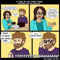 DeyNische Birthday Comic by Ross-Sanger