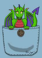 Pocket Dragoness by Ross-Sanger