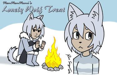 Lonely Wolf Treat Fan Art by Ross-Sanger