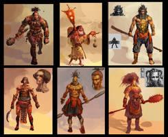 character design by Hanjianhao