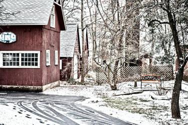Winter in Connecticut by iamthejabberwock
