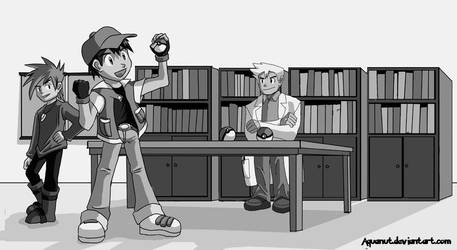 Choose Your Pokemon - Kanto by aquanut