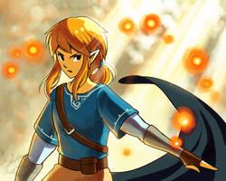 Zelda U by aquanut