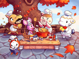 Harvest Festival by aquanut