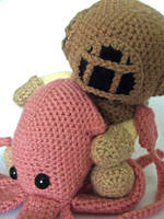 Deep Sea Diver and Squid 2 by MaffersToys