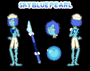 Sky Blue Pearl - Fangem by Chobutt