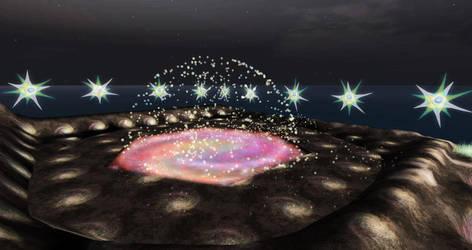 DreamzVisionz II Wishing by Quadrapop tree 001 by InWorldzArtBlog