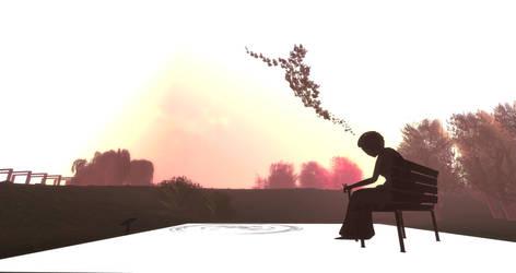 Teal Freenote Free Spirit by InWorldzArtBlog