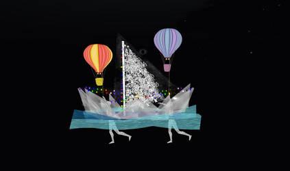 IW DreamzVisionz Boat Parade Mira Karu by InWorldzArtBlog