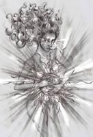 Arien The sun by lomehir