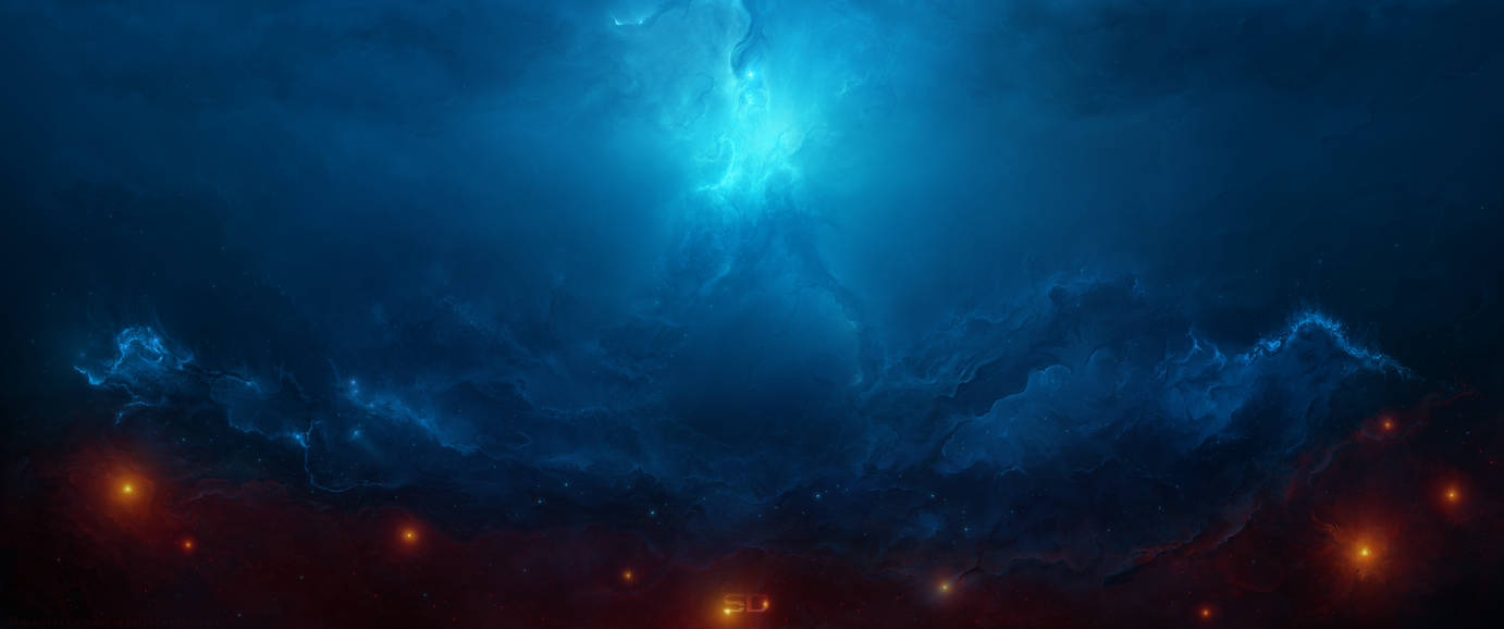 Arch Nebula - 21:9 Ultrawide by StarkitecktDesigns