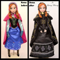 repainted ooak in loving memory anna doll. by verirrtesIrrlicht