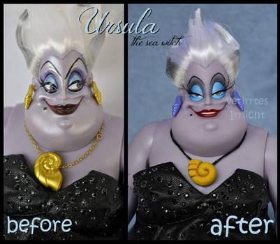 repainted ooak limited edition designer ursula. by verirrtesIrrlicht
