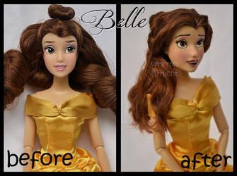 repainted ooak classic belle doll. by verirrtesIrrlicht