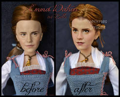 repainted ooak emma watson as peasant belle doll. by verirrtesIrrlicht