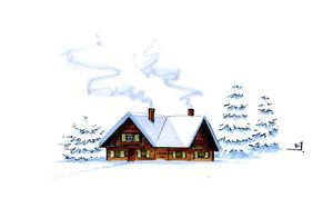 Snowbound Tiny House by RandomCushing