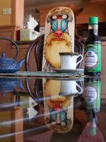Ogu Rampa Takes His Tea Extra Black by RandomCushing