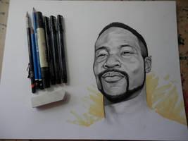 Haile (Portrait Commission) by RandomCushing