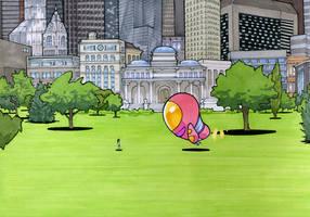 Yoshimi Battles the Pink Robots, Pt. 1, Pt. 2 by RandomCushing