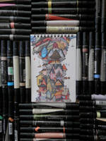 67. This was 67 markers by RandomCushing