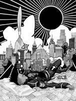Comic Cover Commission by RandomCushing